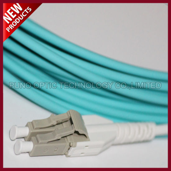 2.0mm LC Duplex OM3 Multimode Uniboot Patch Cord OFNP Cables pictures & photos