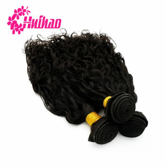 Natural Color Body Deep Wave Straight Natural Virgin Brazilian Indian Hair Bundle Hair Weave with Closure Human Hair