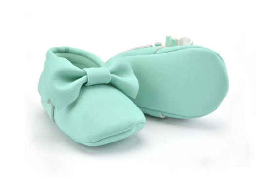 New Model Fashion Colorful Bowknot Design Kids Shoes pictures & photos