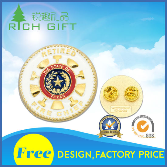 Custom Logo/Metal/Button/Pin/Tin/Police/Military/Emblem/Name/Enamel/Medal Modern Metal Badge for Wholesale at Lowest Price Free Design pictures & photos