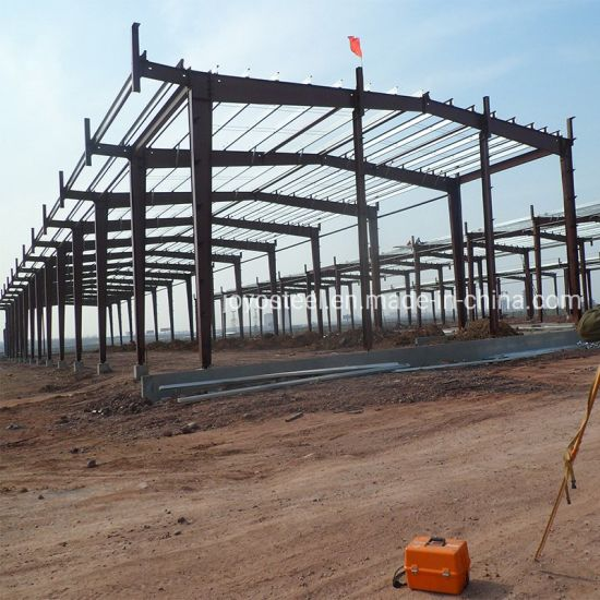 China New Design Prefabricated Light Steel Structure Warehouse