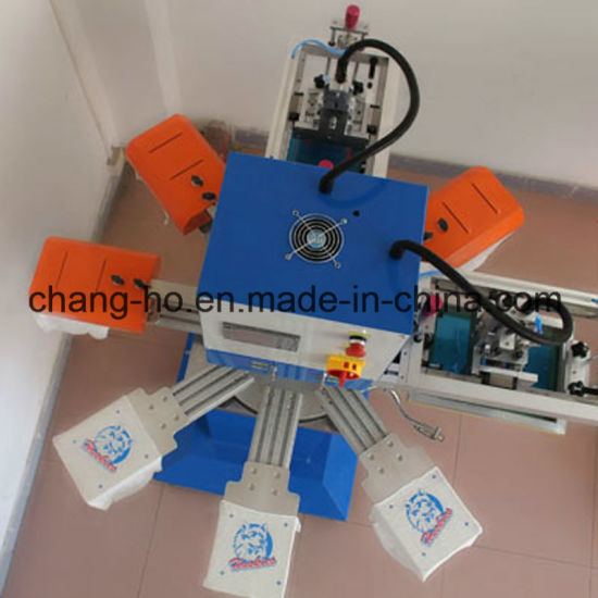 3 Color Garment Silk Screen Printing Machine pictures & photos