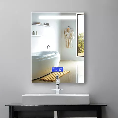 Factory Hot Sale LED Shower Mirror Smart Bathroom Decorative Vanity Wall Mirror