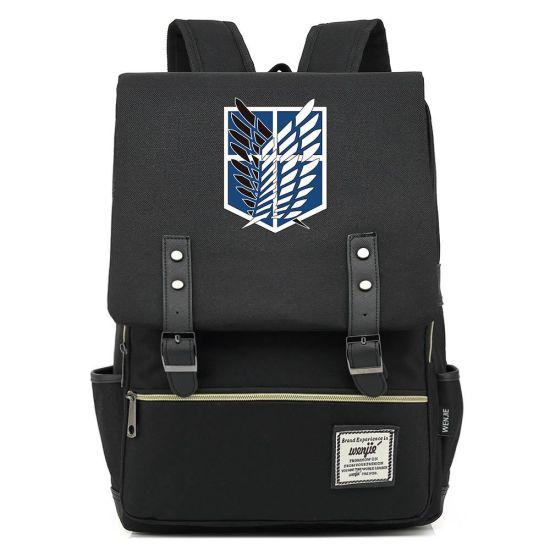 Portable Black Men Laptop Unisex Knapsack Multifunction Outdoor Travel Youth Cool Backpack Bag