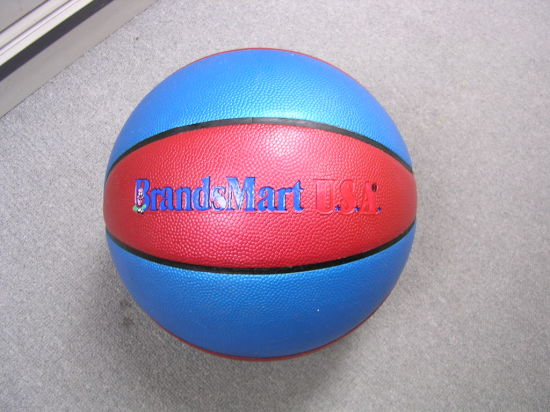 Promotion Durable PVC PU Leather Laminated Sport Ball Basketball pictures & photos