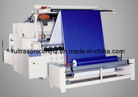 Ultrasonic Mattress Quilting Machine with Ce Certified pictures & photos