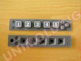 Keypad/Computer Keyboard/OEM Rubber Keypad/Silicone Product/Waterproof Keyboard/Customized Elastomeric Silicone Rubber Control Keypad