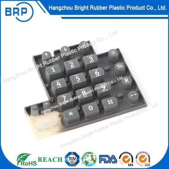 Custom Made Silicone Rubber Button Keypad Sheet