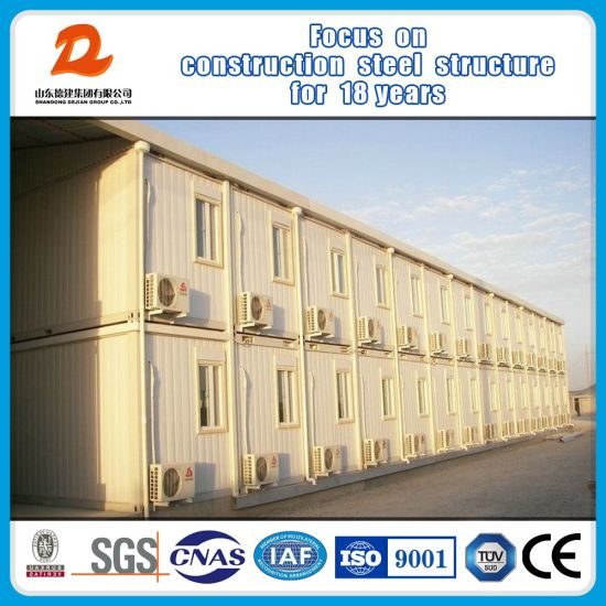 China Movable Prefabricated Modular Houses Container House pictures & photos
