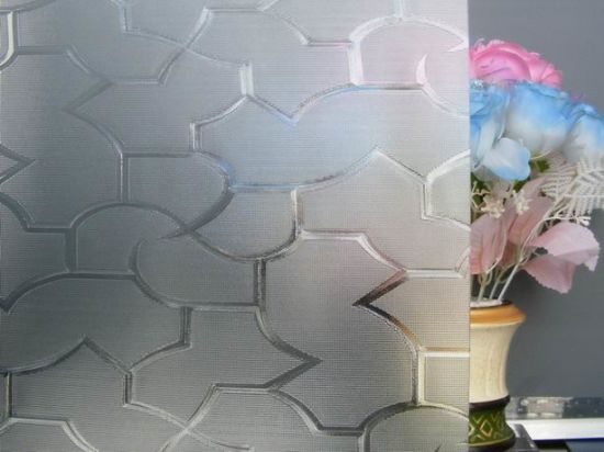 3mm, 3.5mm, 4mm 5mm, 6mm Figured Glass, Clear Patterned Glass