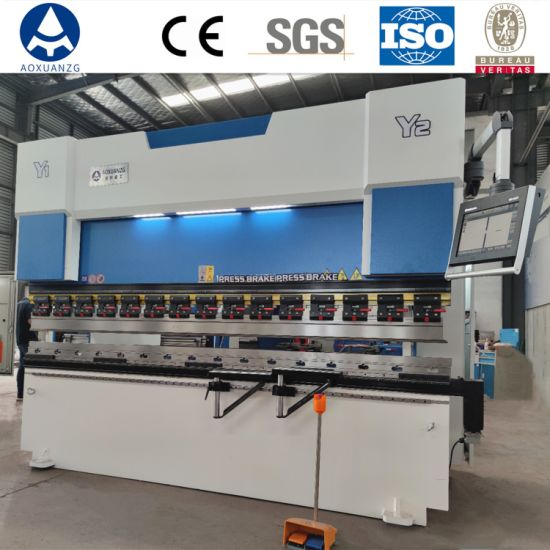 110t CNC Press Brake Sheet Bender Metal Plate Hydraulic Bending Machine