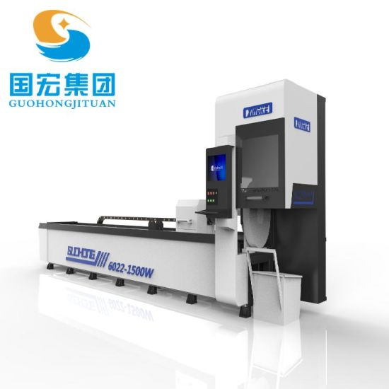 High Efficiency, High Precision and High Reliability Round and Square Pipe Fiber Laser Cutting Machine