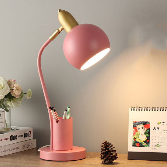 Bedside Table Lamp for Kids Room Reading Room Modern Style