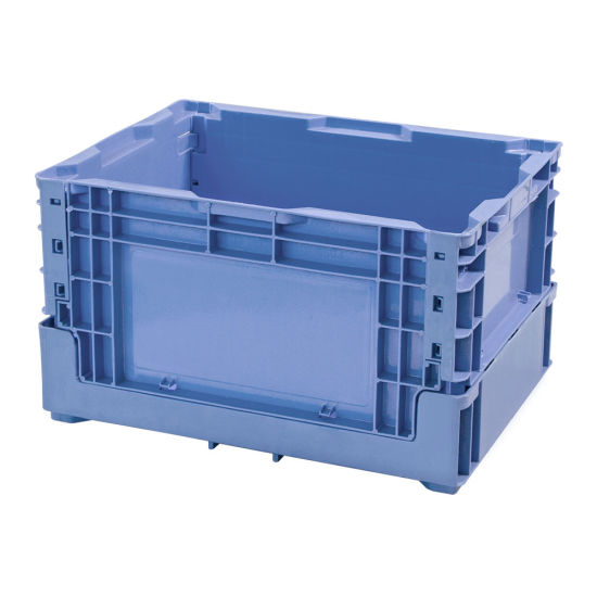 Nestable and Stackable Plastic Turnover Container Logistics Box