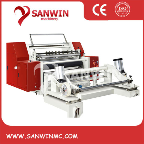High Speed Paper Horizontal Slitting Rewinding Machine