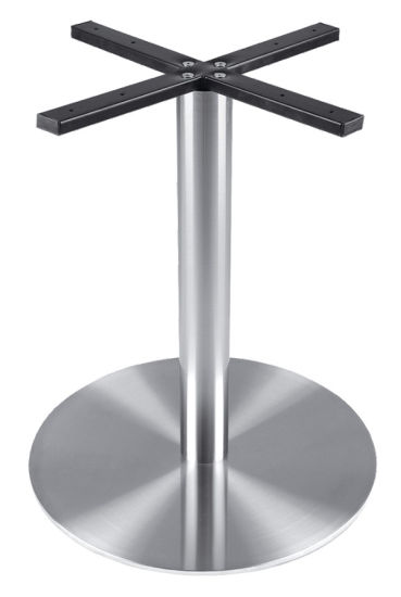 China Outdoor Dining Stainless Steel Tablebase Supplier SB - Stainless steel dining table base suppliers