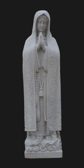 Garden Decoration Stone Carving Holly Virgin Mother Maria Church Statue Sculpture (LL60) pictures & photos