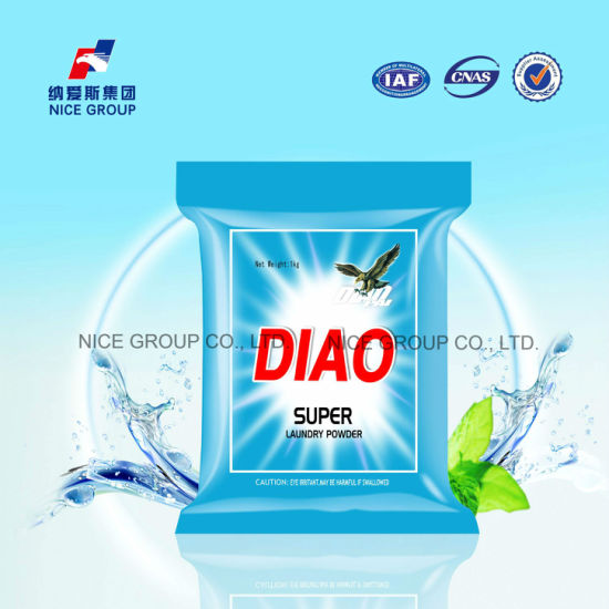 China Diao Brand Effectively Super Laundry Powder with Fruit Scent
