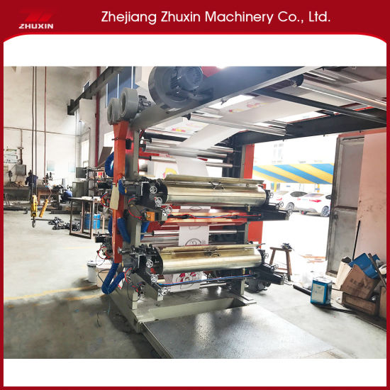 Frequency Control Plastic Bag Printing Machine with Low Noise