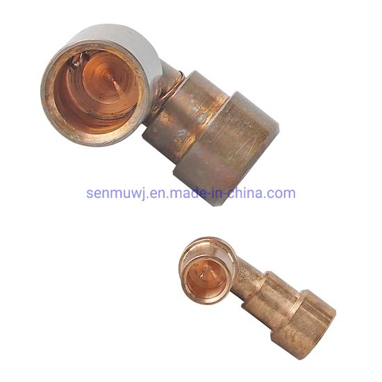 Copper Material, CNC Turning Part for New Energy Vehicle
