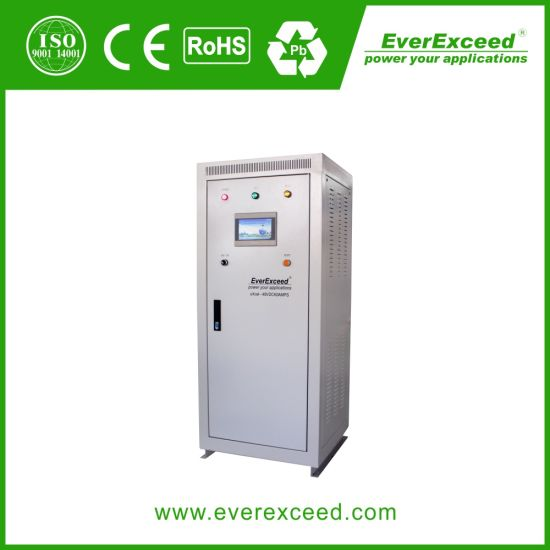 Everexceed 110V1200A Uxcel Series Industrial Battery Charger with High Frequency Switch Rectifier / Thyristor Rectifier/ DC UPS