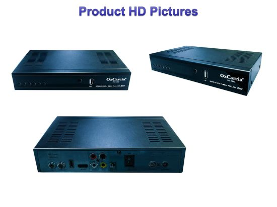 DVB-S2 220mm Digital Satellite Receiver with Dual Remote Controller