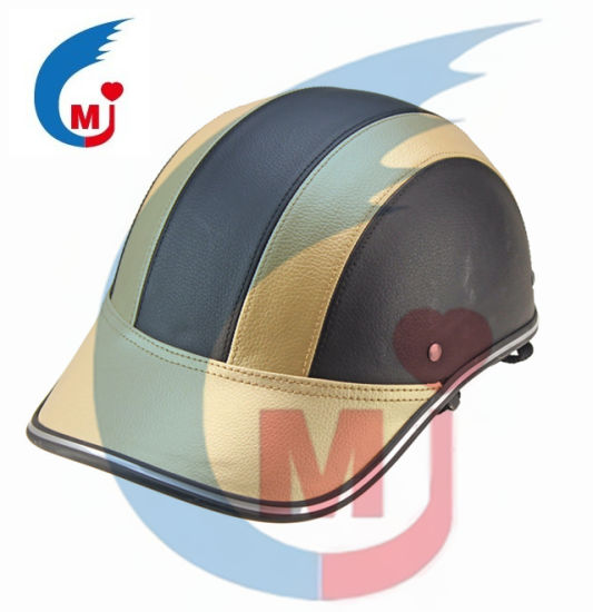 Motorcycle Parts High Quality Baseball Cap Helmet/Half Face Helmet/Protective Helmet with Ce Certafication pictures & photos