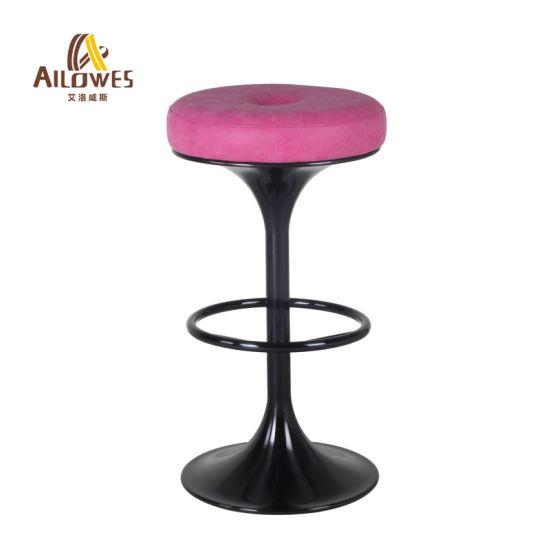 Strange China Round Pu Seat 304 Grade Stainless Steel With Black Unemploymentrelief Wooden Chair Designs For Living Room Unemploymentrelieforg