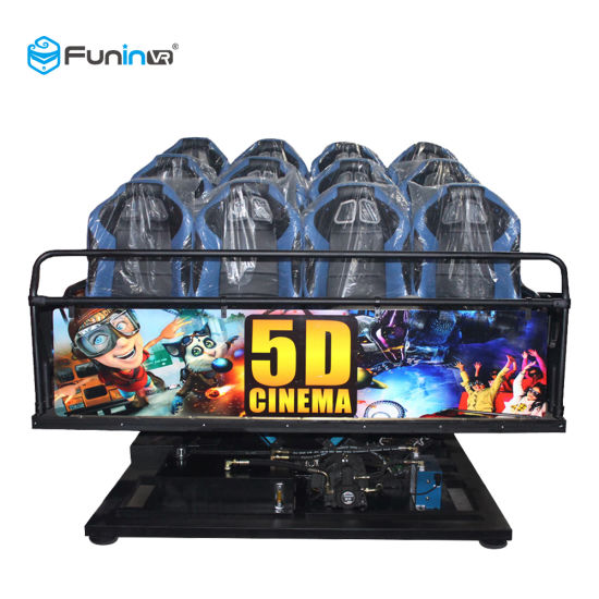 Electrical Motion Theater 5D 7D 9d 12D Multi-Player Interactive Cinema for Theme Park