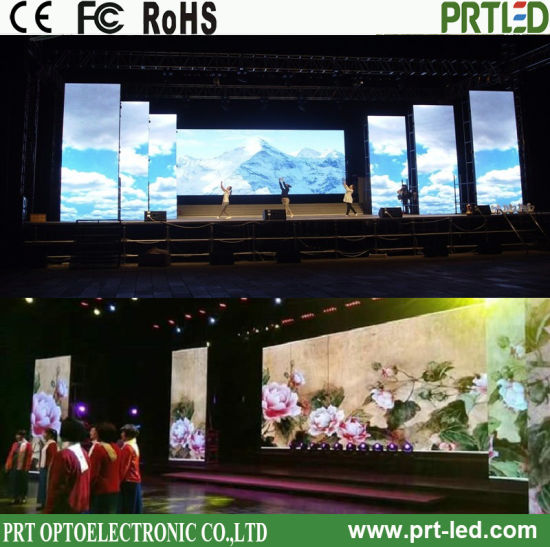 Full Color Indoor LED Display, Advertising Screen, Rental LED Display Panel with LCD Monitor Screen (P2.6, P2.9, P3.91)