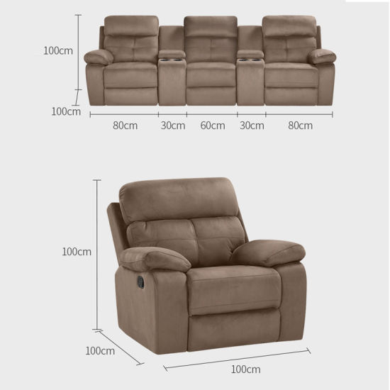 Excellent Furniture Fashion New Design Leather Reclining Sofa Recliner Chair Designer Home Cinema Sofa With Cup Holder Onthecornerstone Fun Painted Chair Ideas Images Onthecornerstoneorg