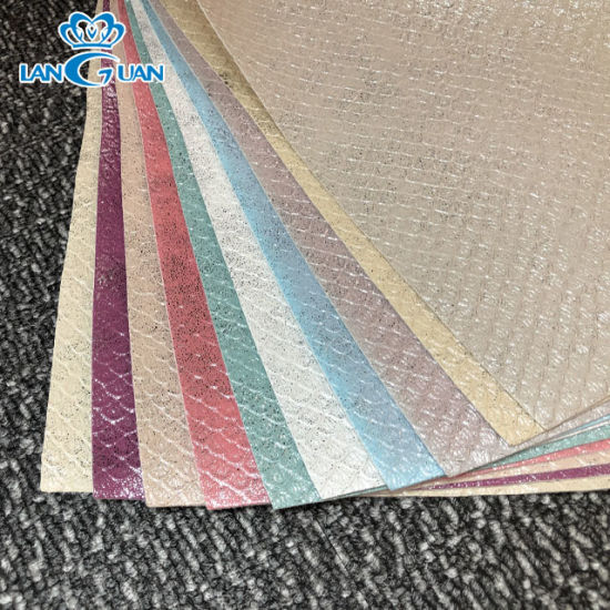 0.9mm PU Artificial Leather for Shoe/Bag