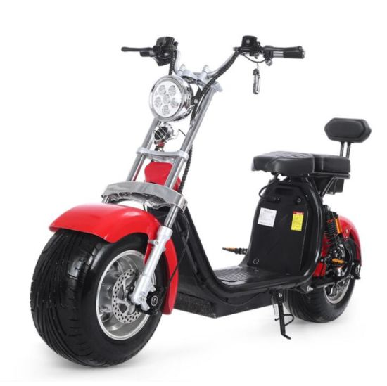1500W/2000W/3000W Fat Tire Big Wheel Lithium Battery Harley Electric Citycoco Scooter Motorcycle with Ce/EEC/Coc Certification
