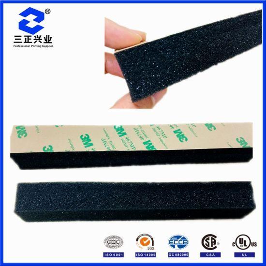 Custom 3m Adhesive Heat Isolation Polyurethane Sound Absorption Foam