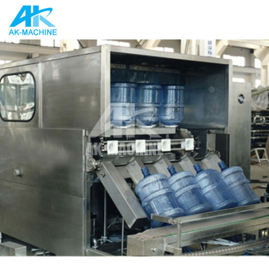 2019 Automatic 5 Gallon Bottled Water Filling Machine Production Line for Sales pictures & photos