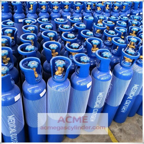 ISO Standard Steel Oxygen Gas Cylinder with Factory Price