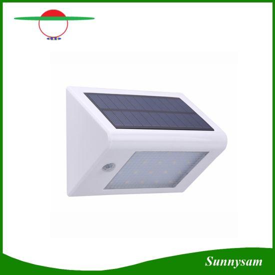 china solar panel led solar light human body induction lamp light