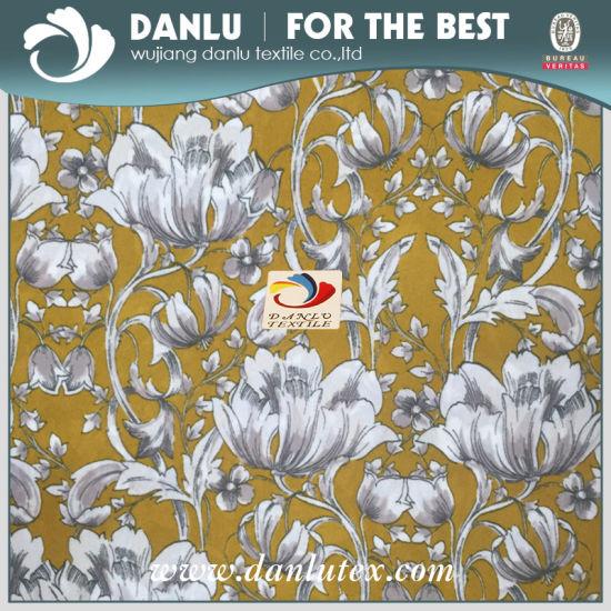 100% Polyester Printed Chiffon Fabric/High quality Fashion Dress Fabric