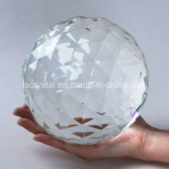 Details about  /60//80mm Cut Crystal Sphere Prisms Glass Ball Faceted Gazing Suncatcher Crafts