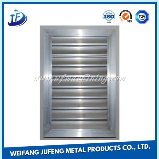 Aluminum Alloy Air Outlet Persian Blinds with Door Hinge for Ventilation pictures & photos