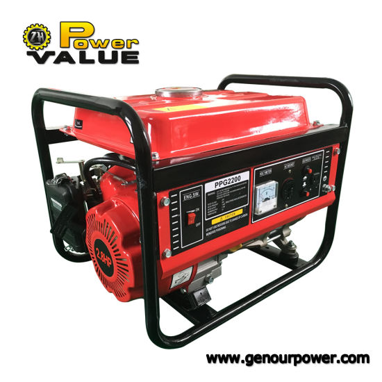 Wonderful Power Value 1000 Watt Portable Generator Price With 80cc 4 Stroke Engine