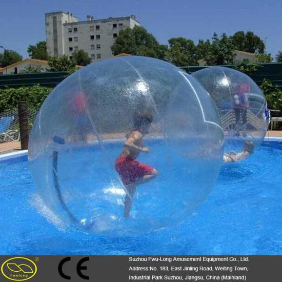 Customized Size Large Small Amusement Park Water Ball pictures & photos