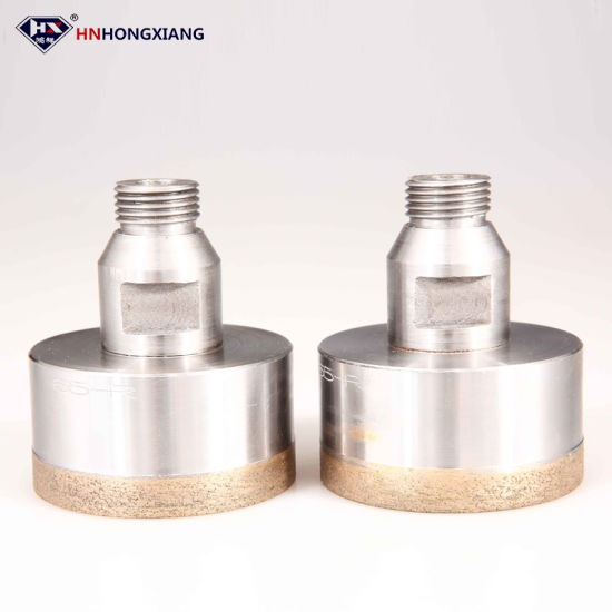 "1/2"" Gas Sintered Diamond Hole Saw for Glass Drilling pictures & photos"