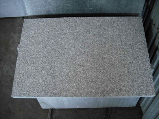 China Dark Grey G654 Granite Slabs/Tiles/Stairs pictures & photos