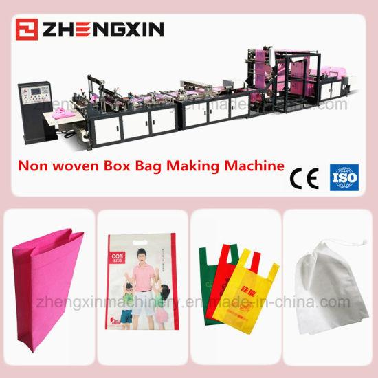 Hot Sale Box Bag Making Machine Non Woven Fabric Zxl-C700