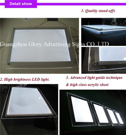 Advertising LED Aluminum Outdoor and Indoor Slim Light Box pictures & photos