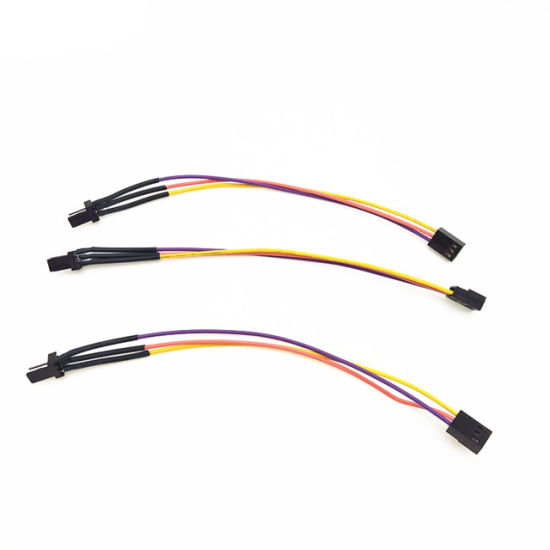 [Hot Item] 200mm Male to Black 3pin Molex 2510 Connector 2.54mm Pitch on