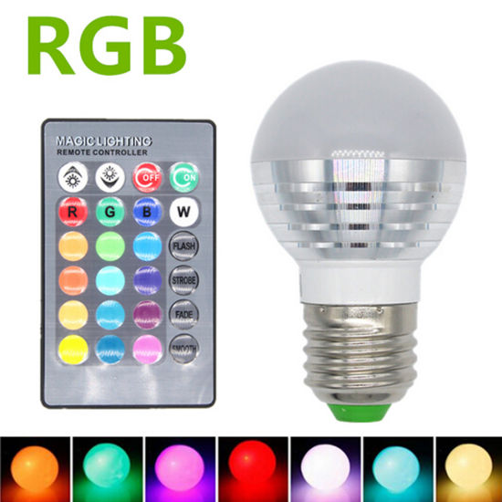 3W E27 16 Color Changeable RGB LED Christmas Decorate Bulb pictures & photos