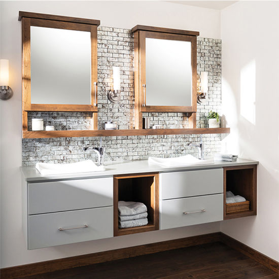China Australian Style Mdf Wooden Country Style Bathroom