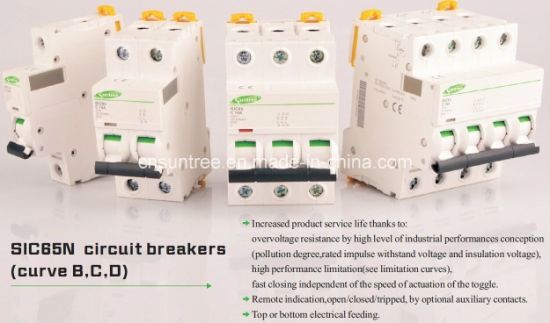 China Acti9 IC65n 63 AMP Circuit Breaker Mini Circuit Breaker MCB ...